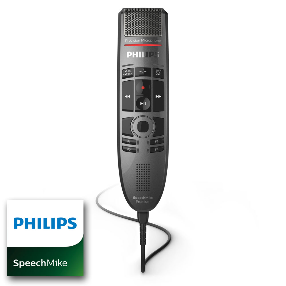 Philips SpeechMike Premium Touch mit Barcode Scanner SMP 3800