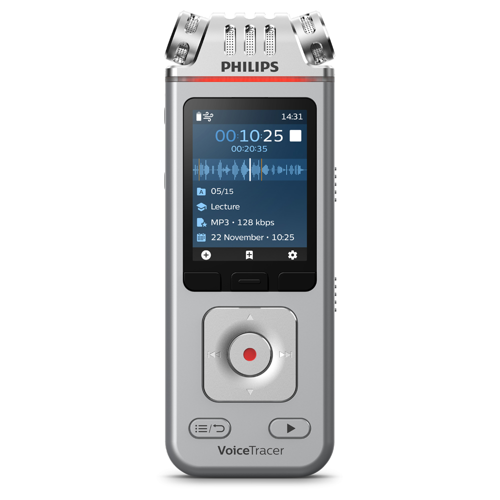 Philips Audiorekorder Digitaler Voice Tracer 4110 (DVT4110)