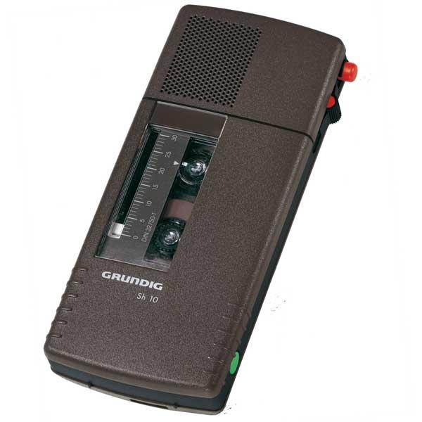 Grundig Diktiergerät Stenorette Sh10 Set