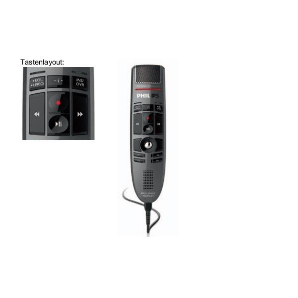 Philips SpeechMike Premium LFH3500 mit Spracherkennung Dragon Professional Individual 15