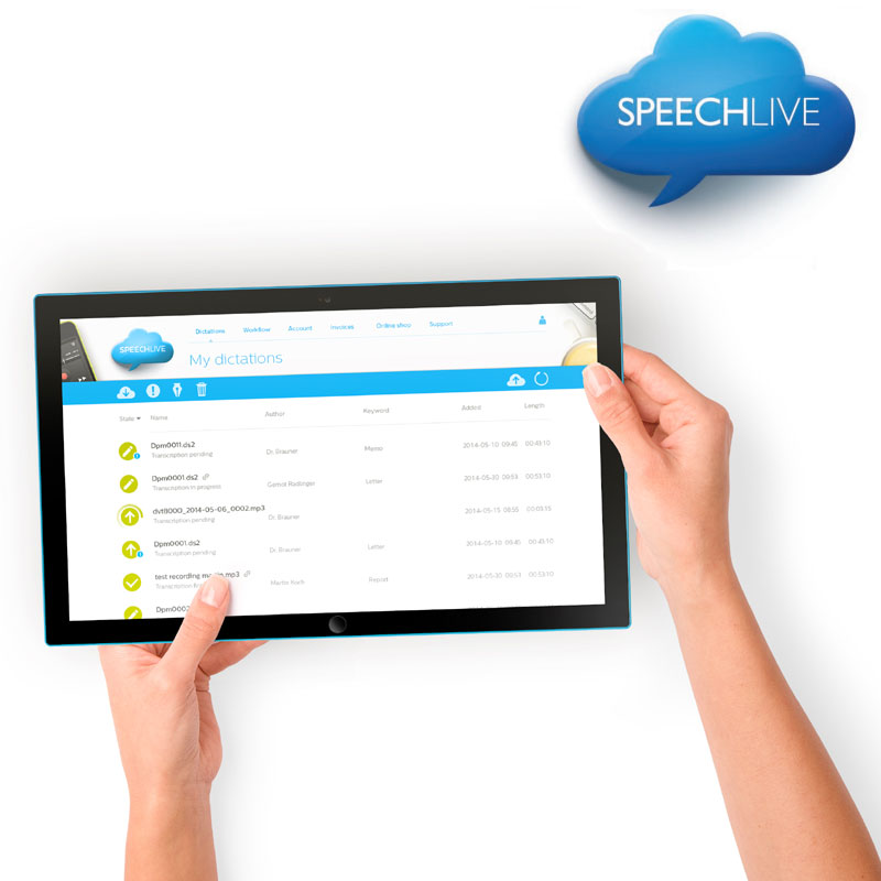 Philips SpeechLive Erweitertes Business Paket (Advanced Business)