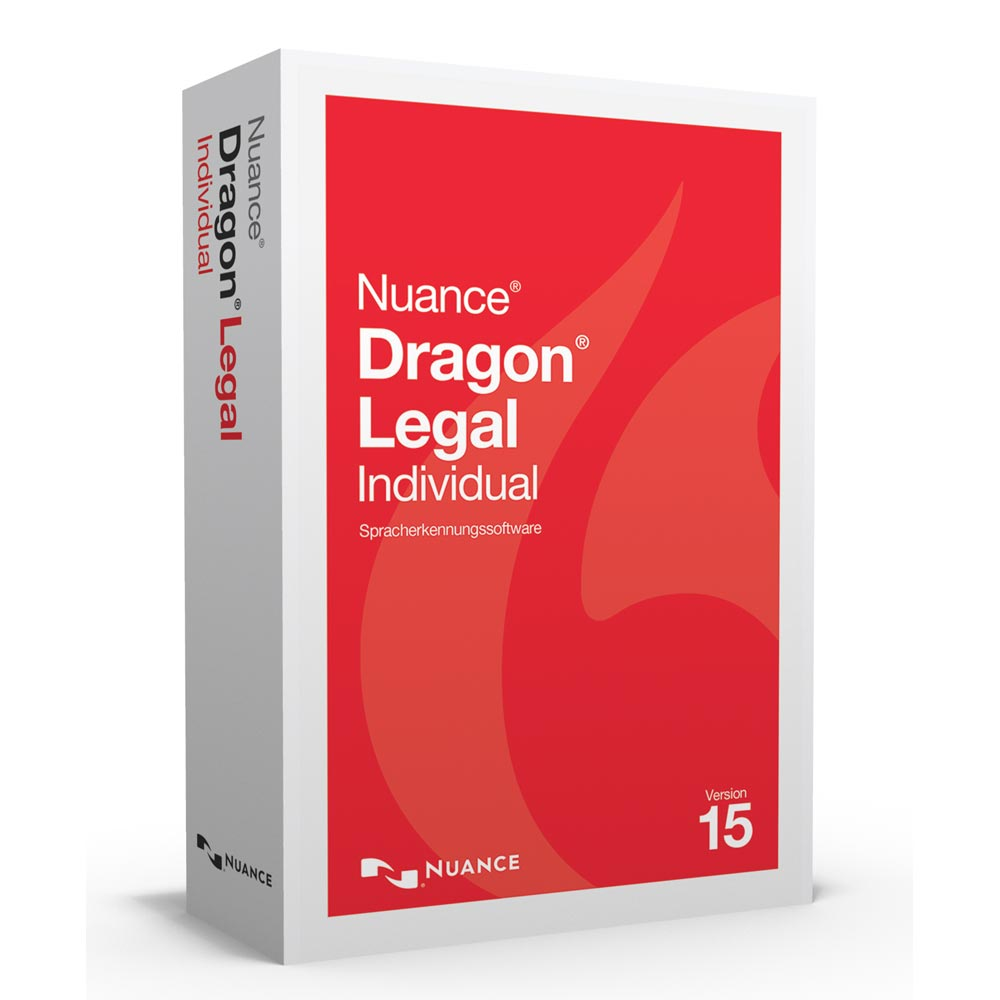 Spracherkennung Dragon Legal 15 Individual