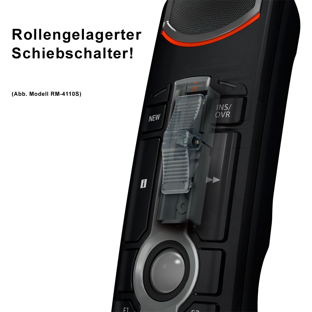 Olympus Diktiermikrofon RM-4110S mit ODMS7