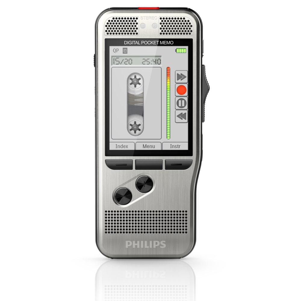Diktiergerät und Fußschalter Philips Starterkit DPM7700