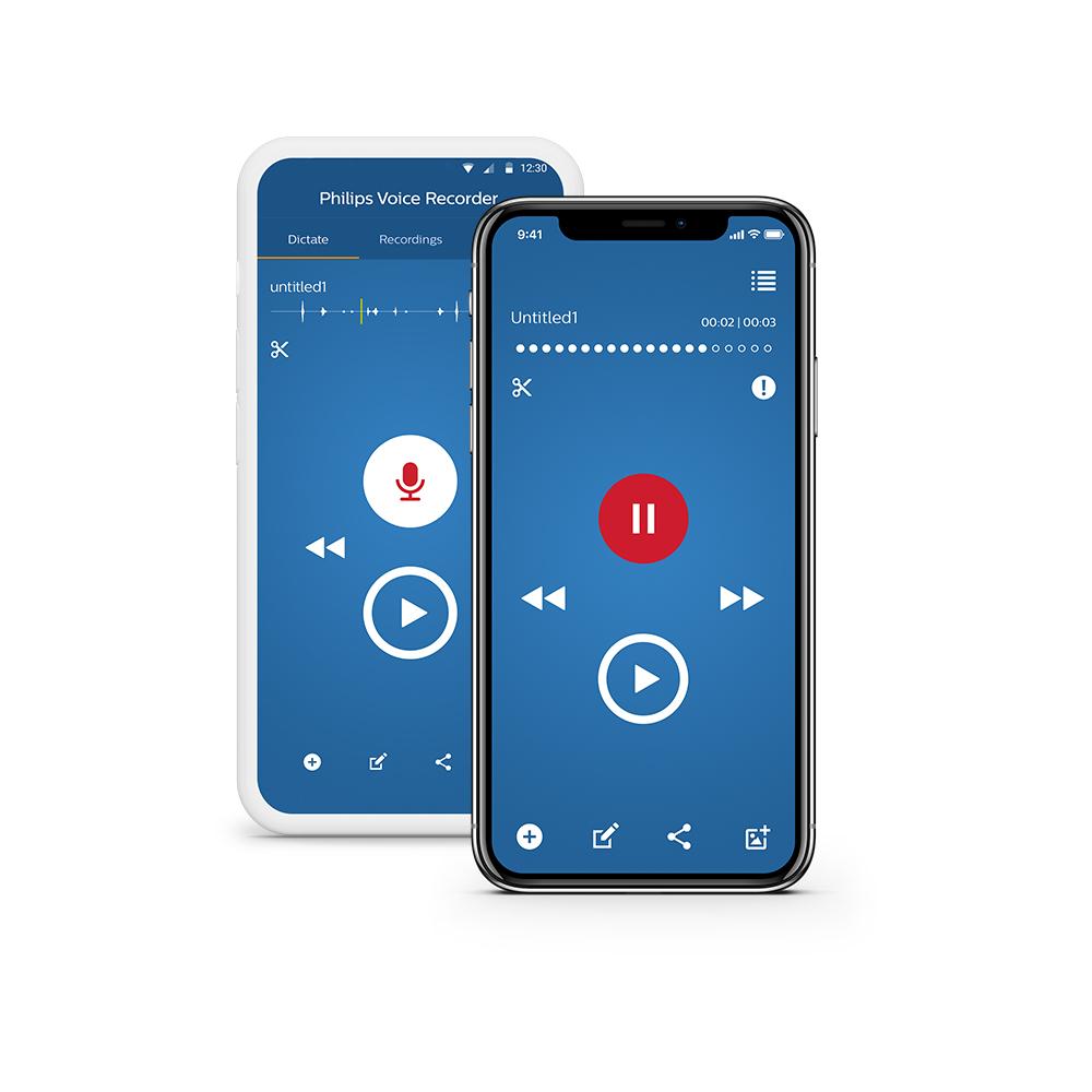 Philips SpeechLive Diktier App