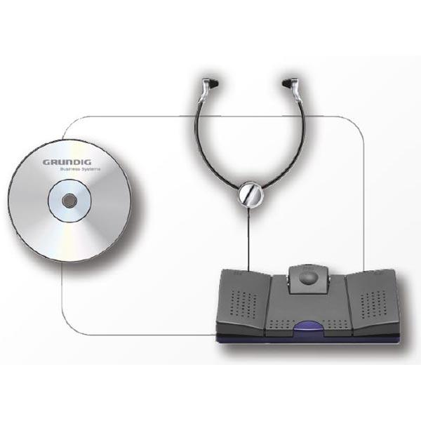 Grundig DigtaTranscription Starter Kit 568 USB