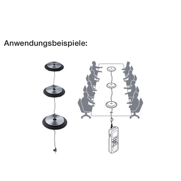 Olympus Konferenzmikrofone ME-33