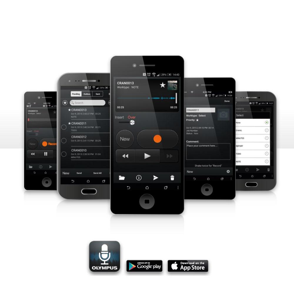 Diktiergeräte App für Smartphones