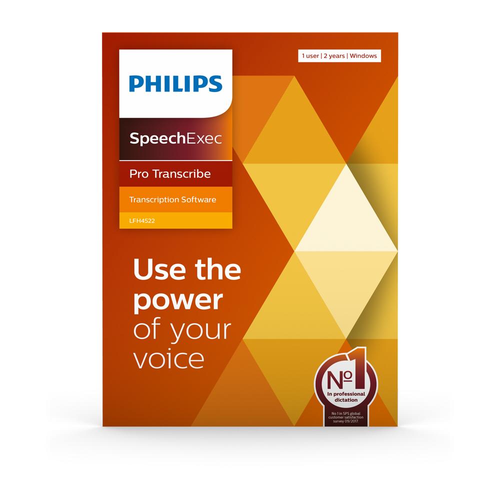 Philips SpeechExec Pro Transcribe 11 Wiedergabesoftware
