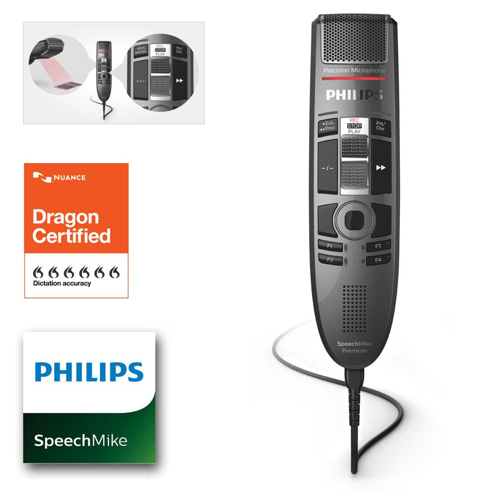 Philips SpeechMike Premium Touch mit Barcode Scanner SMP3810