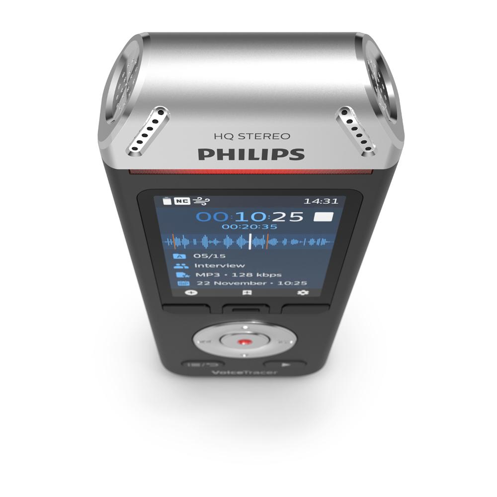 Philips Audiorekorder Digitaler Voice Tracer 2110 (DVT2110)