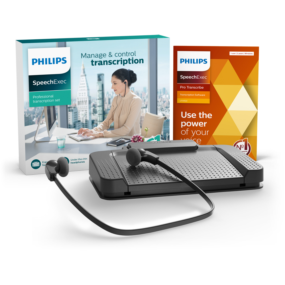 Philips SpeechExec Pro Transcription Set 7277 (7277/08)
