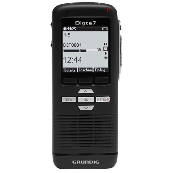 Grundig Diktiergerät Digta 7 Premium Set Typ 703