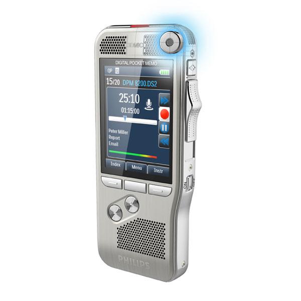 Philips Diktiergerät DPM 8200 mit Spracherkennung Dragon Professional Group 15