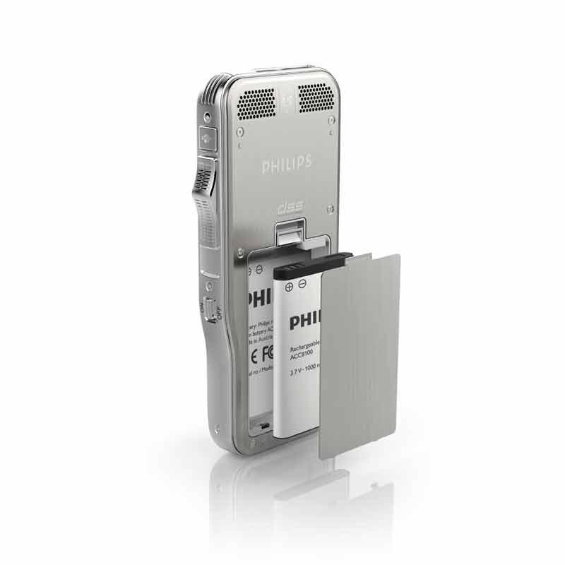 Philips Akku ACC8100 für Digital Pocket Memo