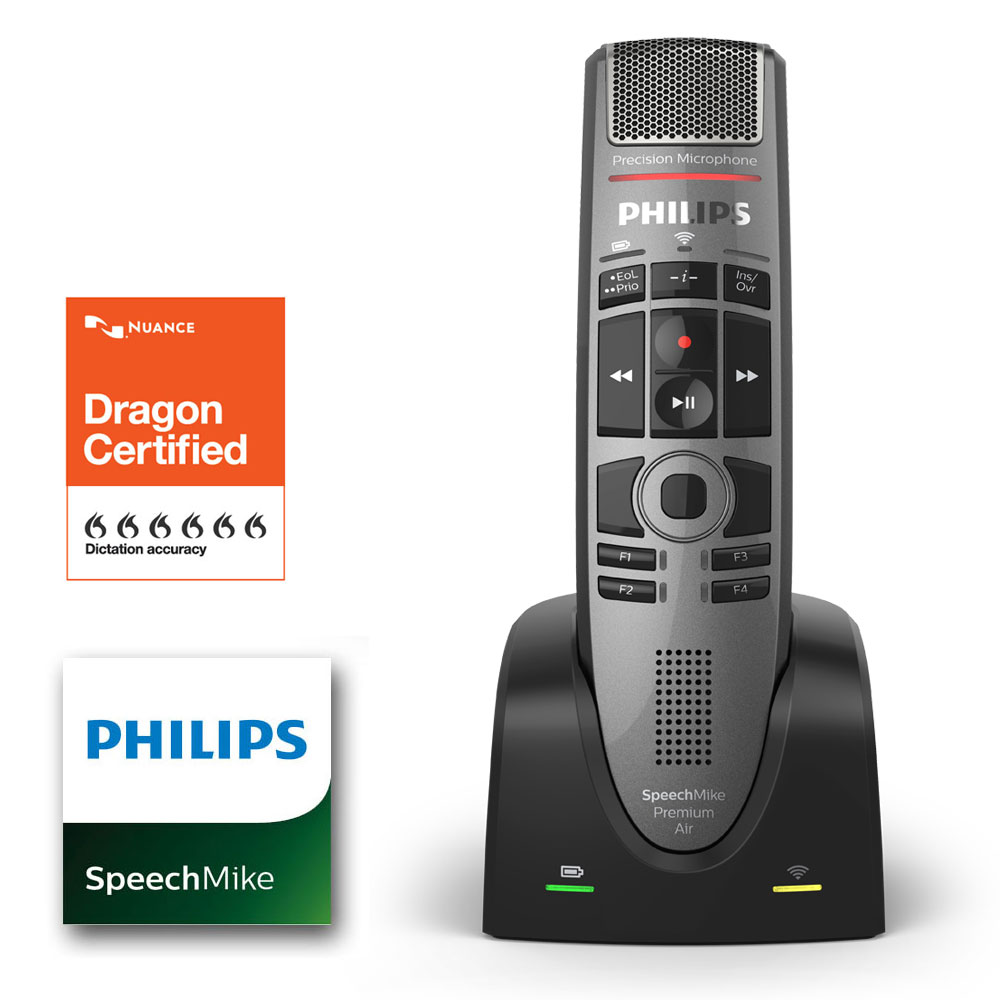 Philips SpeechMike Premium Touch Air SMP4000