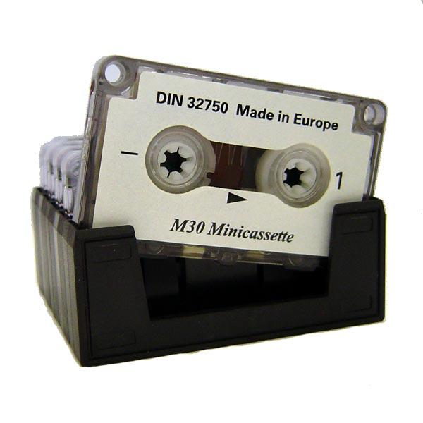 Minikassette M30 2 x 15 Minuten (5 Stück)