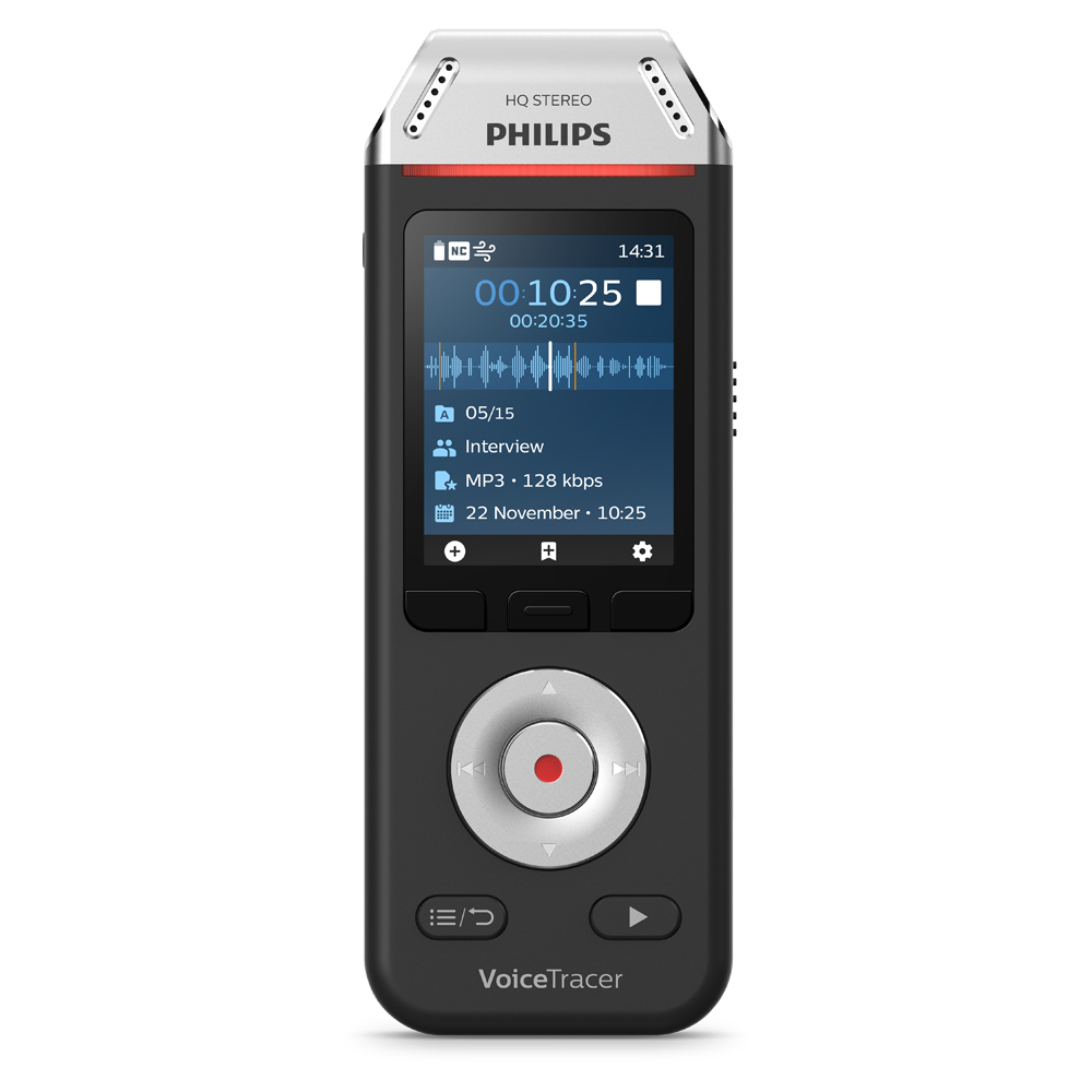 Philips Audiorekorder Digitaler Voice Tracer 2110 (DVT2110)