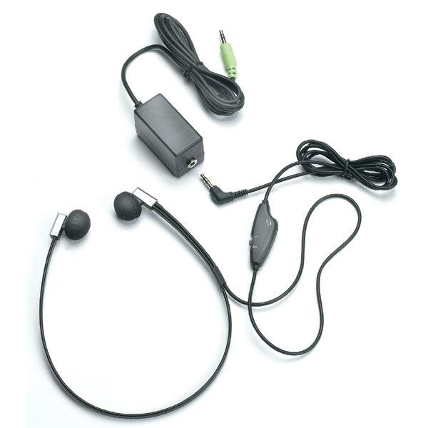 Kopfhörer mit Lautstärkereglung Stereo - Mono FLX-10