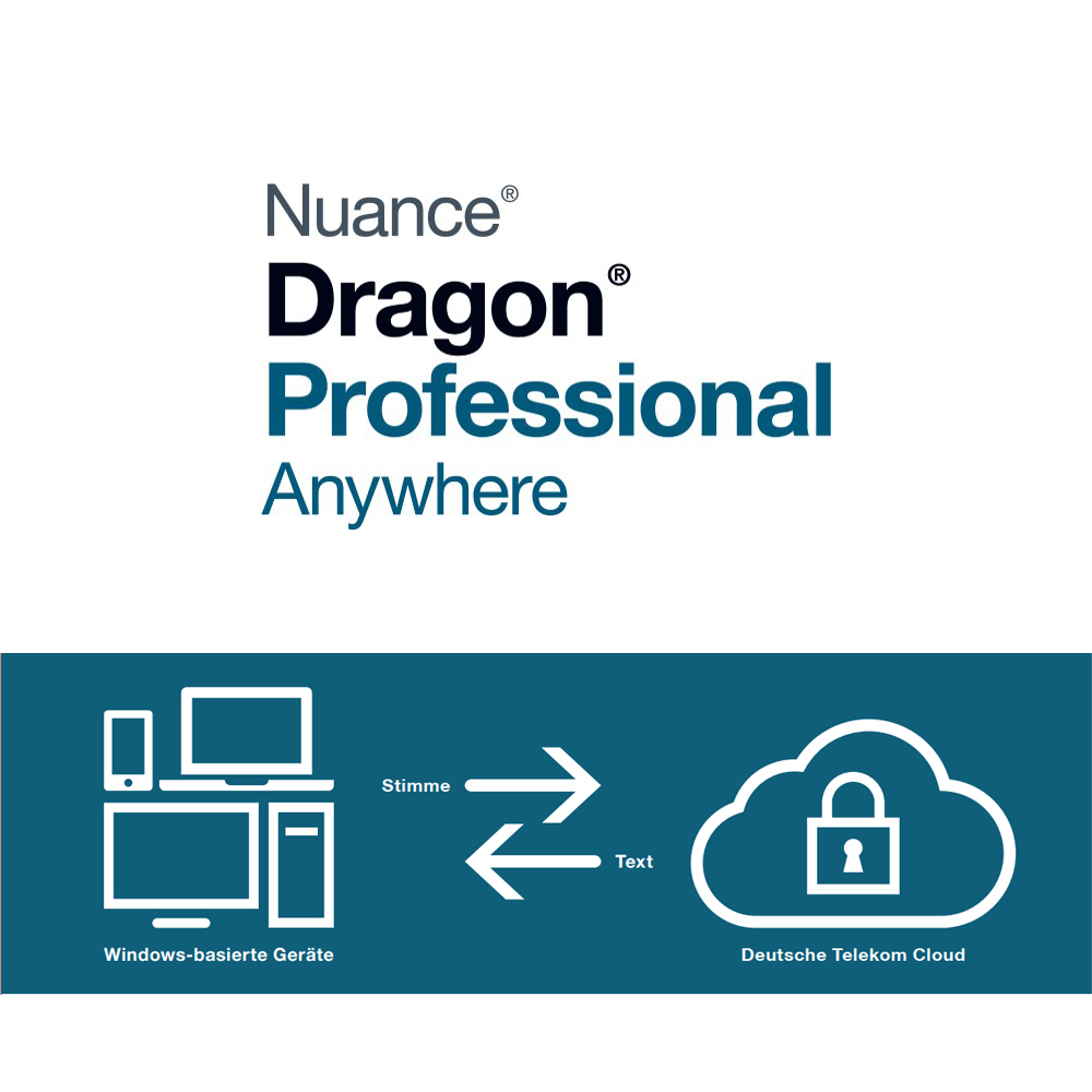 Dragon Professional Anywhere Mietlösung