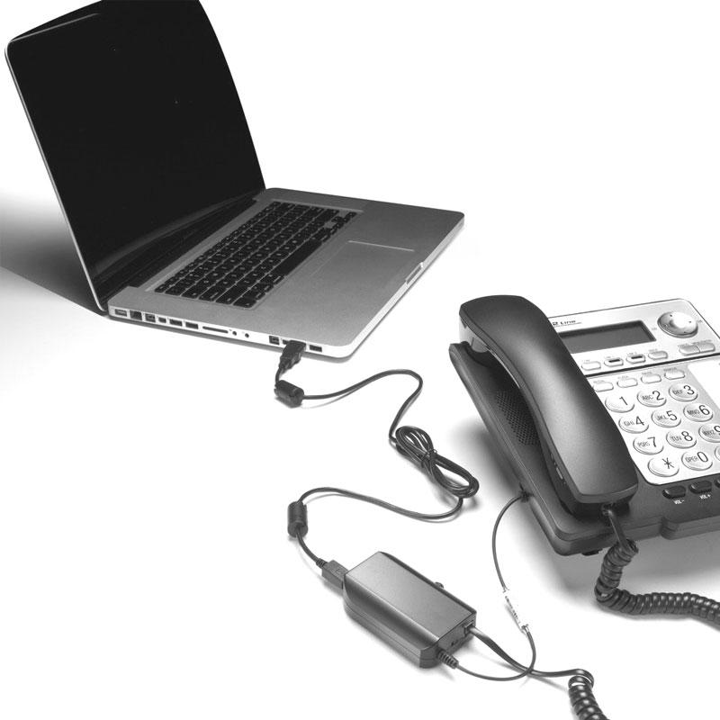 Telefonaufnahme Adapter LRX-40 USB
