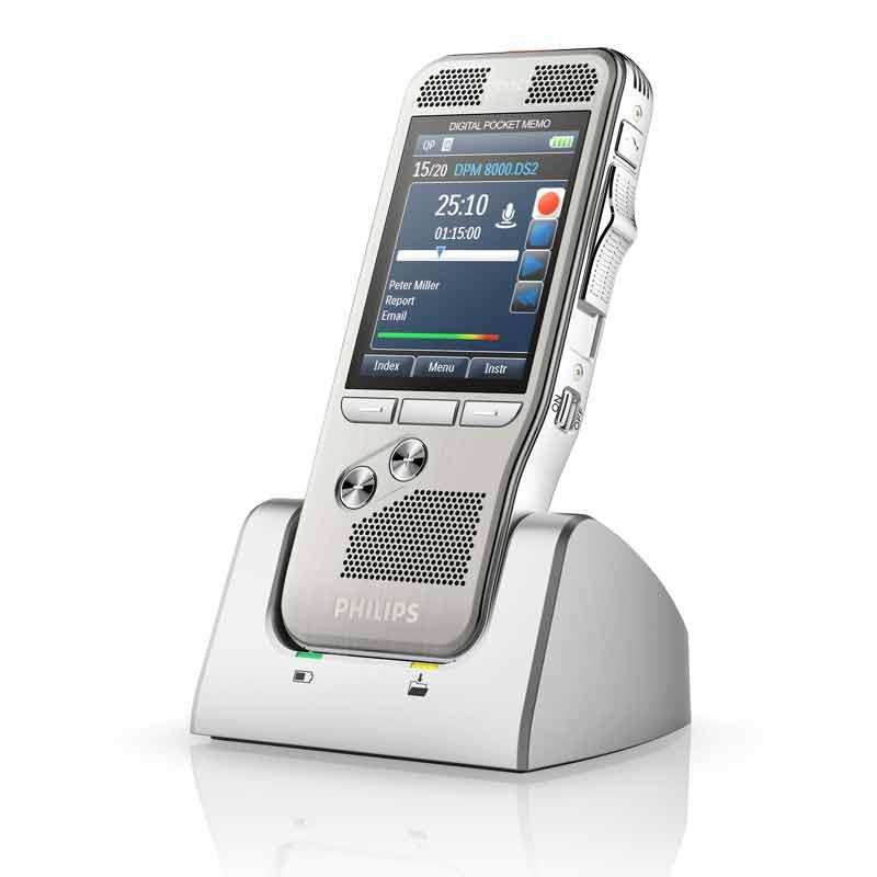 Philips Dockingstation ACC8120 für Digital Pocket Memo